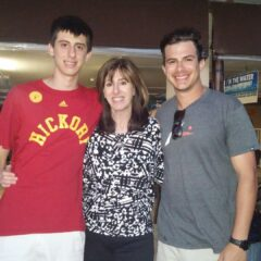 Ann in Credentialing with her boys
