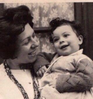 Translator Christine with her mother